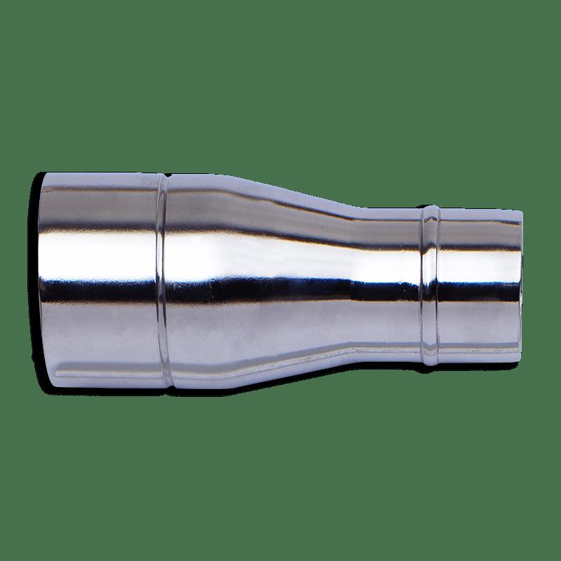 <strong>REDUZIERSTÜCK FÜR INDUSTRIESAUGER</strong>   Ausgangswerkstoff Stahlrohr   St 34-2 NBK nach DIN 2394 Ø 50 x 2 mm   Oberfläche verchromt